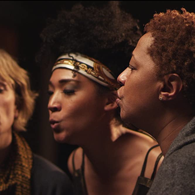 Morgan Neville and Lisa Fischer in 20 Feet from Stardom (2013)