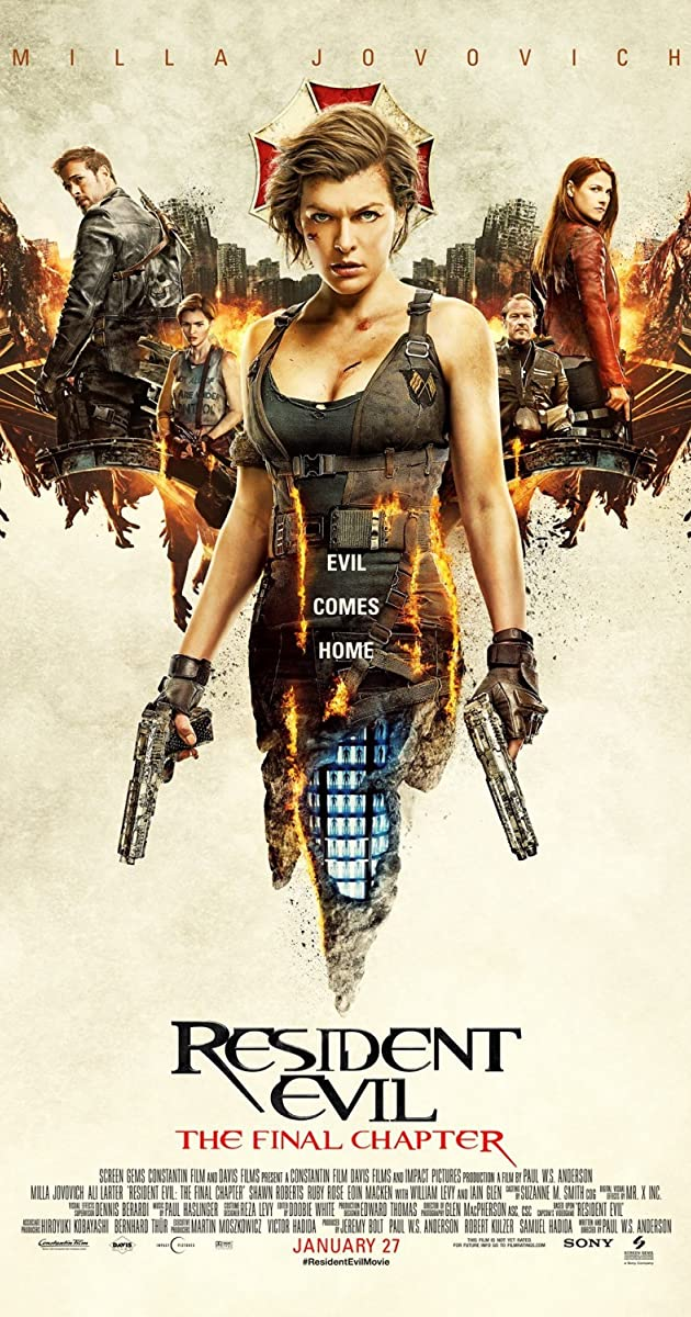 Resident Evil: The Final Chapter 2016 2017