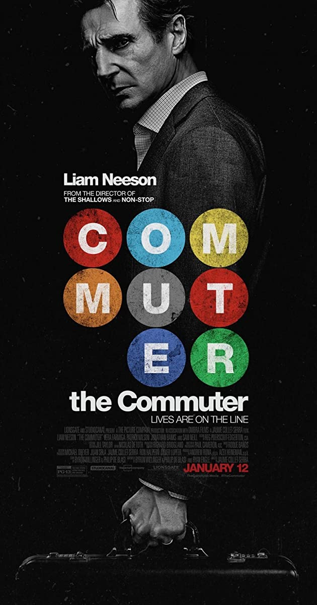 Slaptas keleivis / The Commuter (2018)