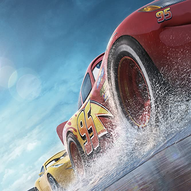 Owen Wilson, Cristela Alonzo, and Armie Hammer in Cars 3 (2017)