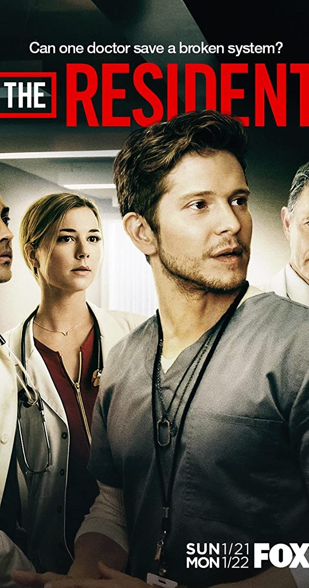 Rezidentas 1 Sezonas / The Resident Season 1 (2018)