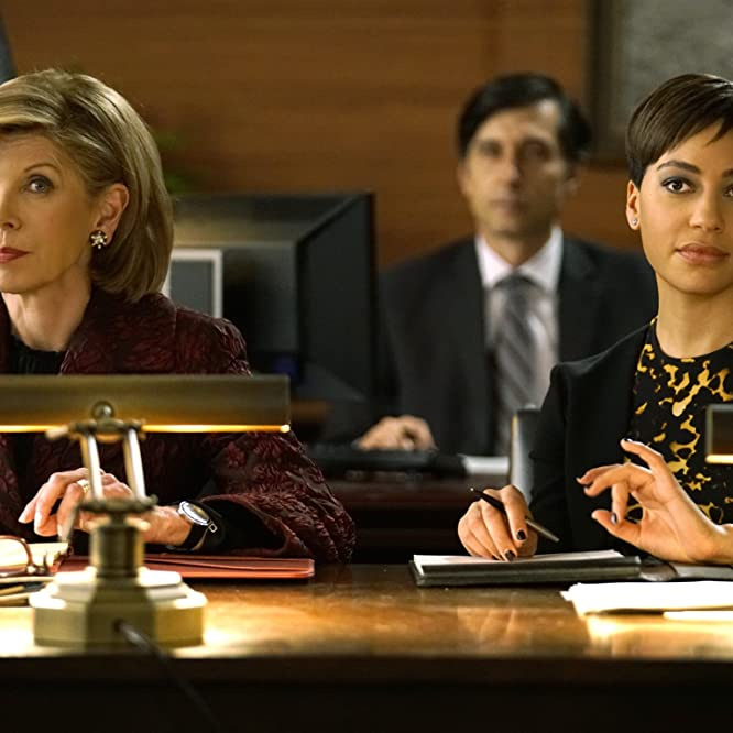 Christine Baranski and Cush Jumbo in The Good Fight (2017)