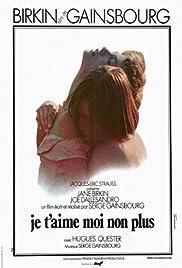 Je t'aime moi non plus(1976) Poster - Movie Forum, Cast, Reviews