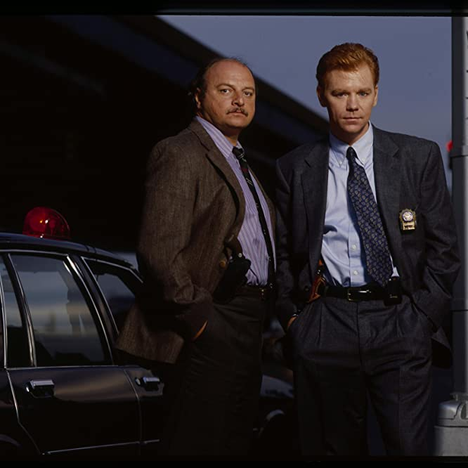David Caruso and Dennis Franz in NYPD Blue (1993)