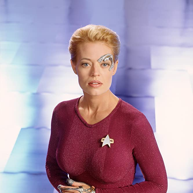 Jeri Ryan in Star Trek: Voyager (1995)