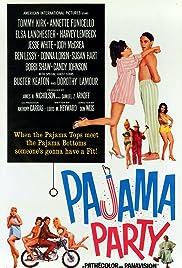 Pajama Party(1964) Poster - Movie Forum, Cast, Reviews
