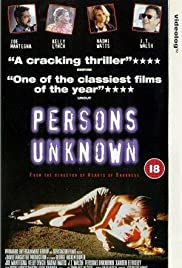 Persons Unknown Poster