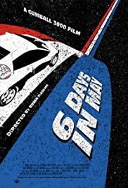 Gumball 3000: 6 Days in May Poster
