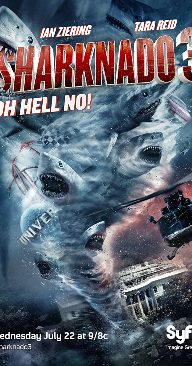 Sharknado 3 Oh Hell No (2015) Hindi Dubbed [BRRip]