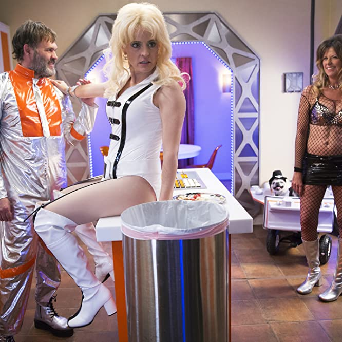 Maria Bamford and Mo Collins in Lady Dynamite (2016)