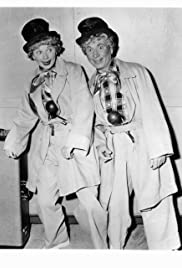 Lucy and Harpo Marx Poster