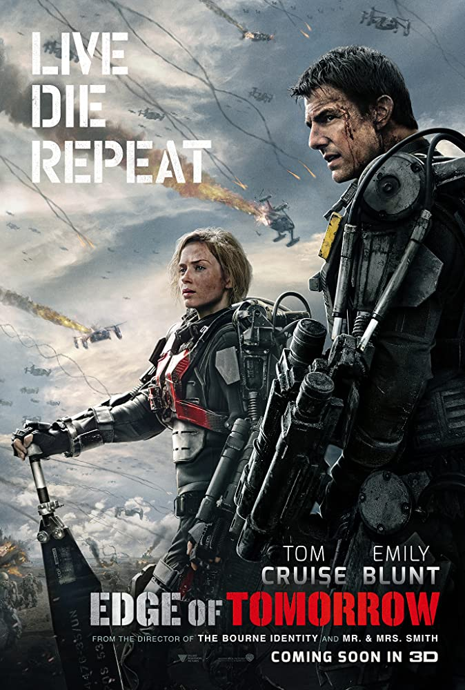 Edge of Tomorrow 2014 480p 720p Bluray Free Download 300MB 900MB Watch Online At Movies365