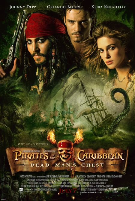 Poster Of Pirates of The Caribbean Dead Man's Chest 2006  Full Movie Hindi Dubbed Free Download Watch Online At movies365.in
