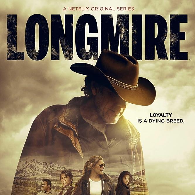 Lou Diamond Phillips, Katee Sackhoff, Robert Taylor, Cassidy Freeman, and Adam Bartley in Longmire (2012)