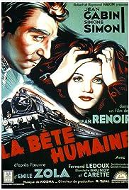 La bête humaine Poster