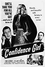 Confidence Girl Poster
