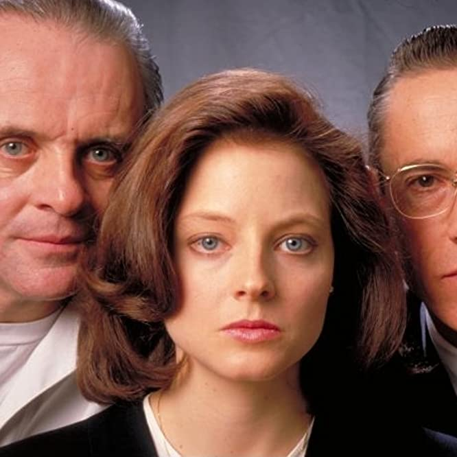Jodie Foster, Anthony Hopkins, and Scott Glenn in The Silence of the Lambs (1991)