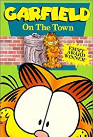 Garfield on the Town Poster
