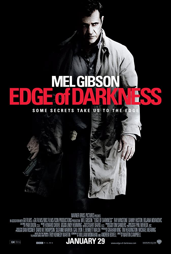 Edge Of Darkness (2010) 720p UNCUT BluRay Dual Audio [Hindi + English] ESubs