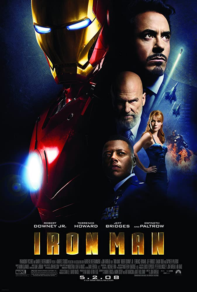 Image result for iron man 2008 poster