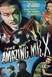 The Amazing Mr. X Poster