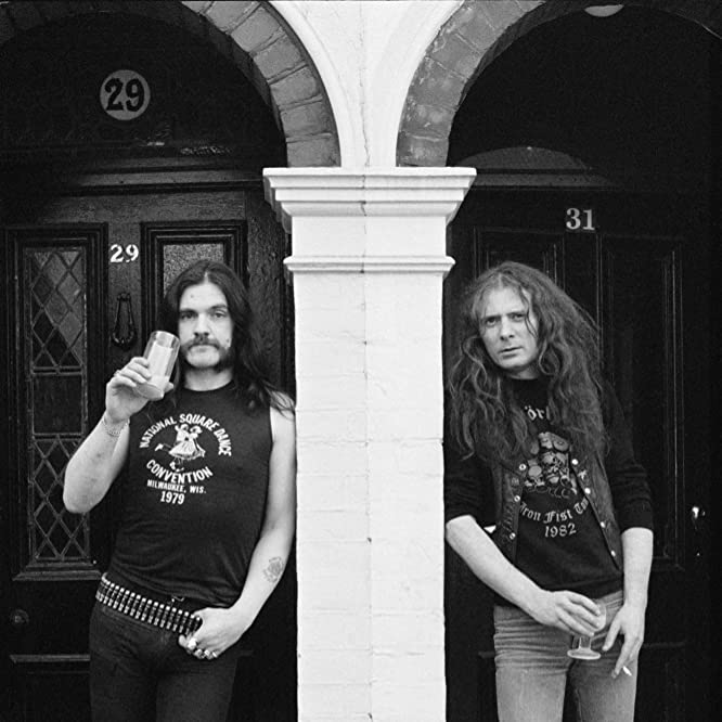 Fast Eddie Clarke and Lemmy