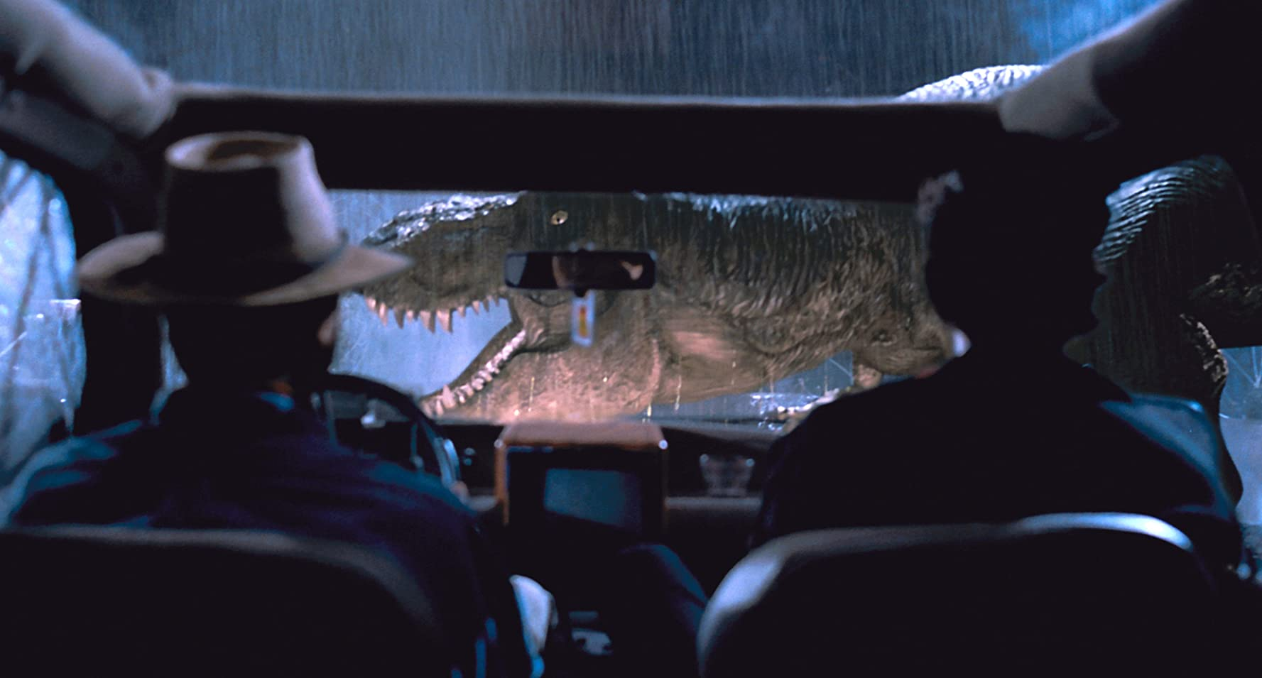 Jeff Goldblum and Sam Neill in Jurassic Park (1993)