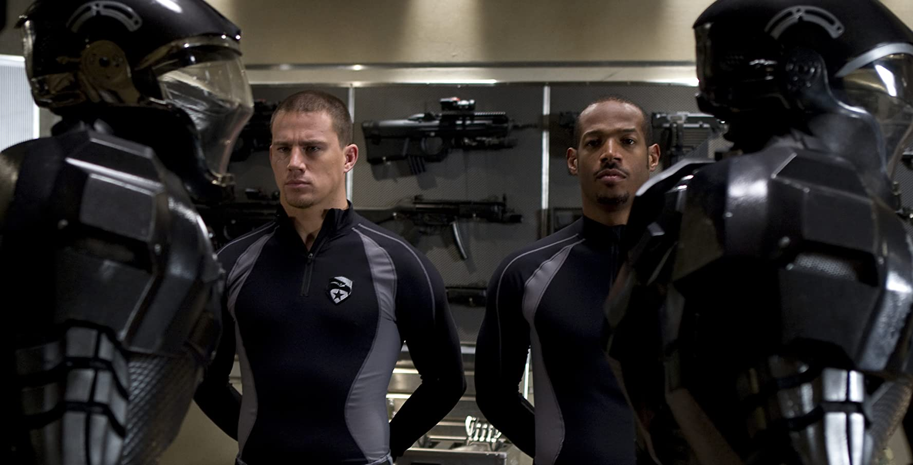 Marlon Wayans and Channing Tatum in G.I. Joe: The Rise of Cobra (2009)