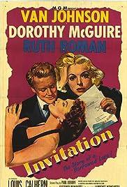 Invitation 1952 imdb invitation poster stopboris Image collections