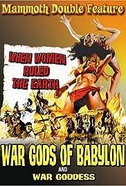 War Gods of Babylon Poster