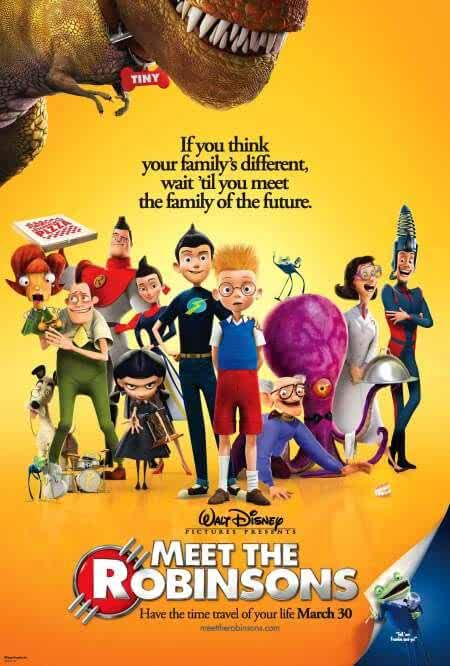 Meet The Robinsons 2007 Dual Audio 720p BluRay 1GB