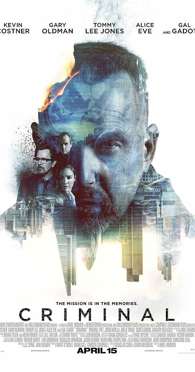 Nusikaltėlis / Criminal (2016)