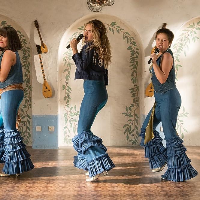 Alexa Davies, Lily James, and Jessica Keenan Wynn in Mamma Mia! Here We Go Again (2018)