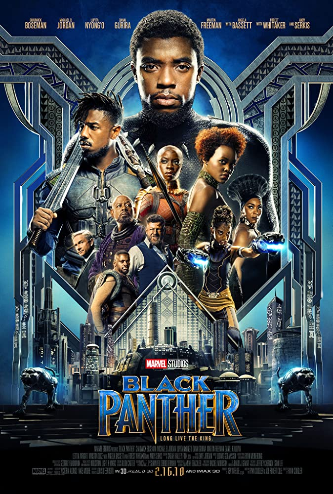 image Black Panther (2018) Hindi Dubbed Full Movie Watch Online HD Print Free Download