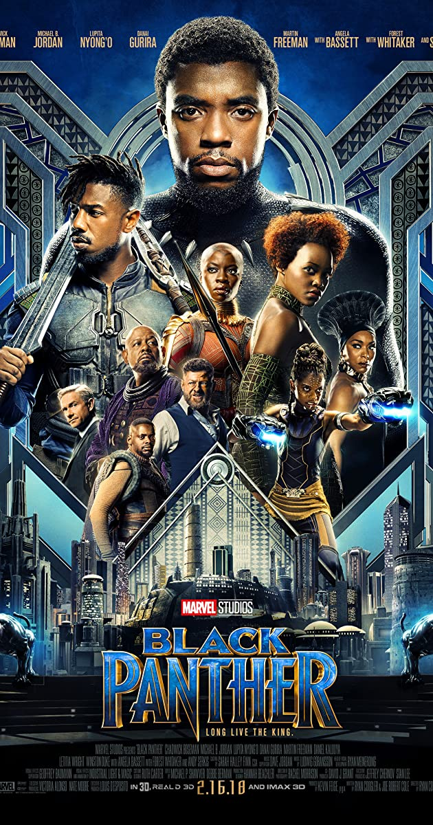 Download Film Black Panther (2018) Bluray Subtitle Indonesia MP4, MKV 360p,480p,720p