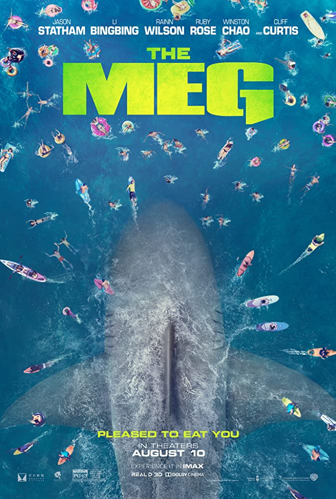 The Meg 2018 Movie Official Trailer