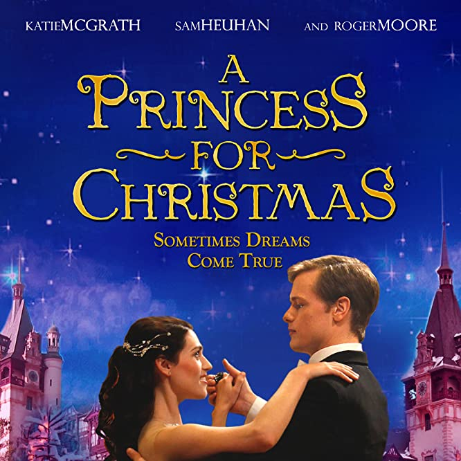 Sam Heughan and Katie McGrath in A Princess for Christmas (2011)