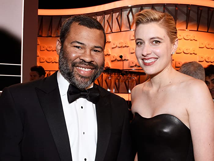 Jordan Peele and Greta Gerwig