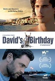 David's Birthday Poster