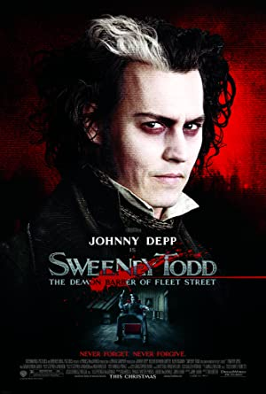 Sweeney Todd: The Demon Barber of Fleet Street poster