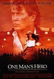 One Man's Hero Poster