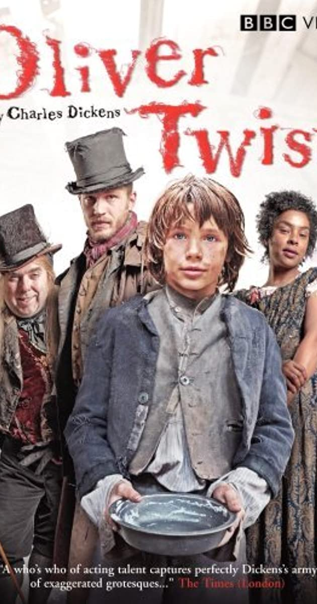 Show how deprivation and suffering are portrayed in the novel Oliver Twist.