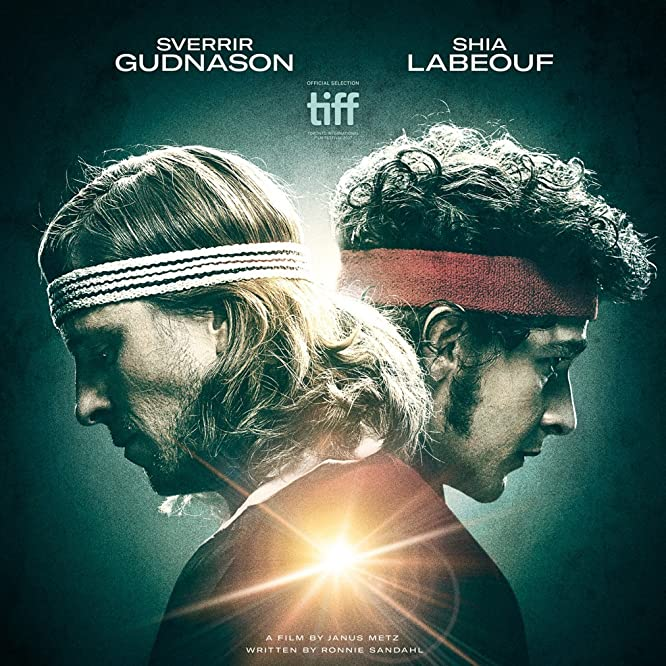 Sverrir Gudnason and Shia LaBeouf in Borg vs McEnroe (2017)