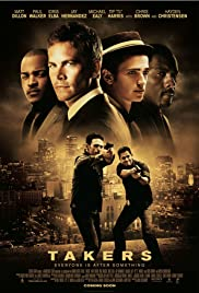 Takers Poster