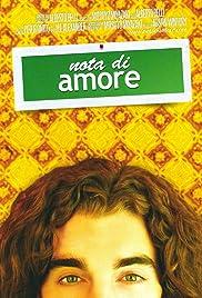 Nota di amore Poster
