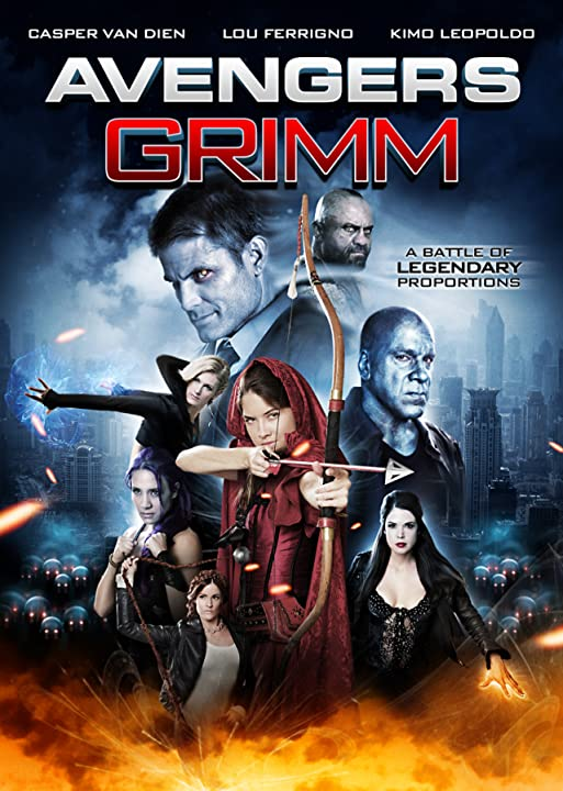 Poster Of  Avengers Grimm (2015)  Full Movie Download 300MB In Hindi English Dual Audio 720P Compressed Small Size Pc Movie at movies365.in