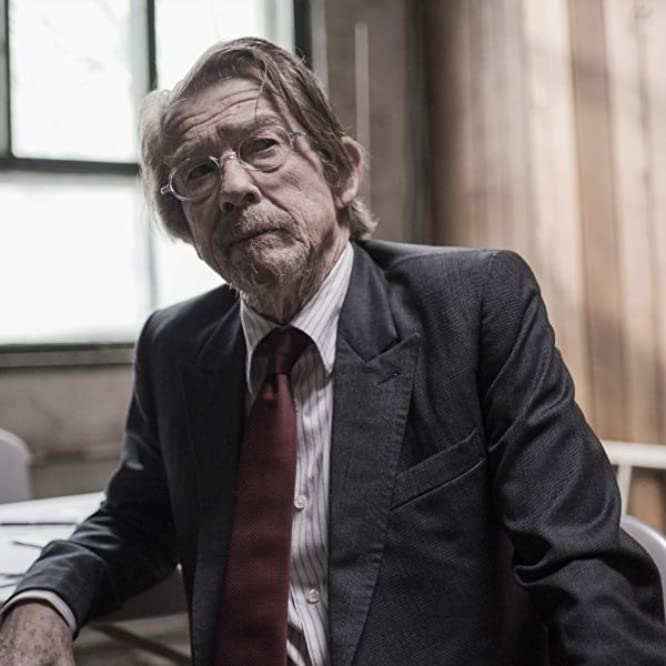 John Hurt in The Last Panthers (2015)