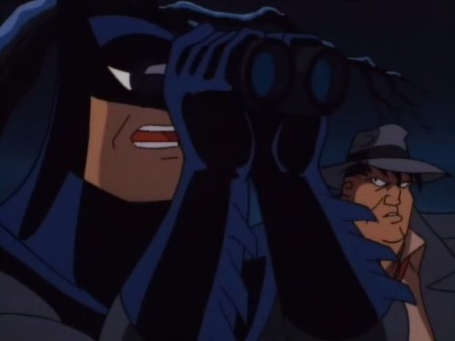 Kevin Conroy and Robert Costanzo in Batman: The Animated Series (1992)