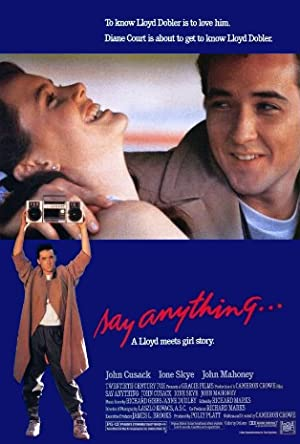 Say Anything... poster