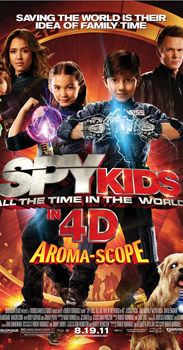 Spy Kids All The Time In The World Watch Online